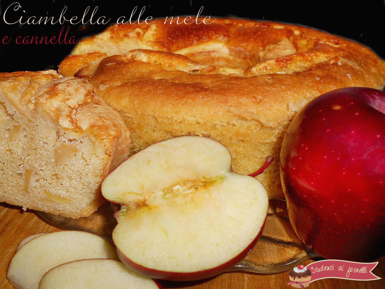 ciambella alle mele e cannella ricetta merenda golosa torta di mele classica