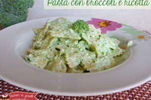 Pasta con broccoli e ricotta