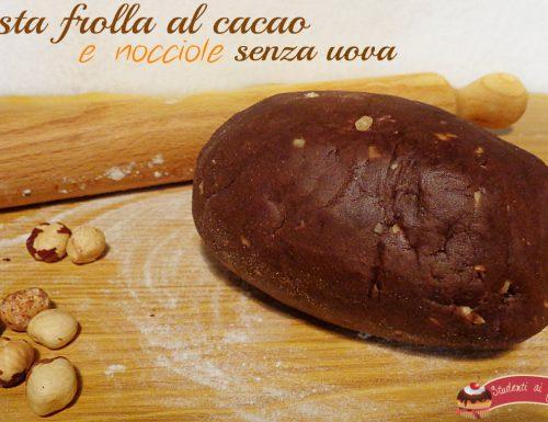 Pasta frolla al cacao e nocciole