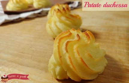 patate duchessa ricetta gustosa con patate contorno