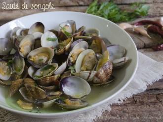 sautè di vongole ricetta di pesce come fare il sautè di vongole