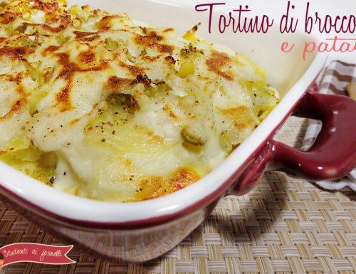 Tortino di broccoli e patate
