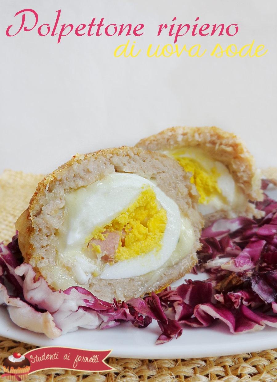polpettone con uova sode ricetta polpettone facile e veloce per pasqua