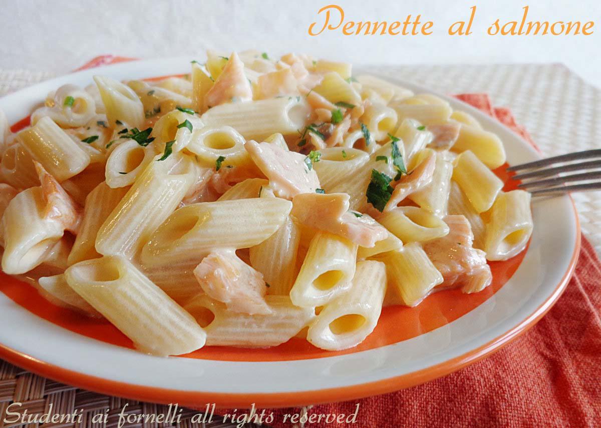 Pennette al salmone ricetta primo con salmone for Cucina facile ricette