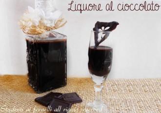 come fare il liquore al cioccolato ricetta facile