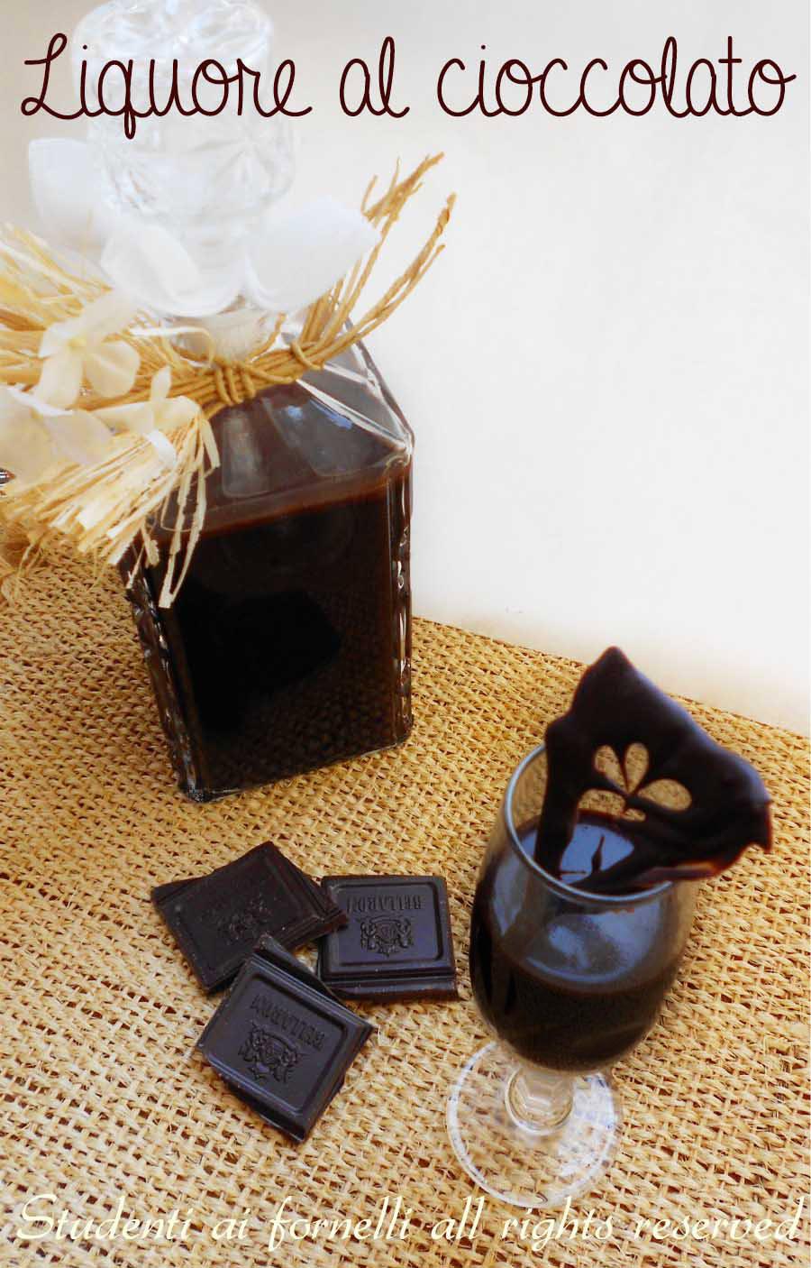 liquore al cioccolato ricetta semplice e veloce ricetta al cacao copy