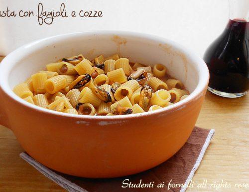 Pasta fagioli e cozze