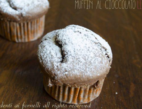 Muffin al cioccolato light senza uova