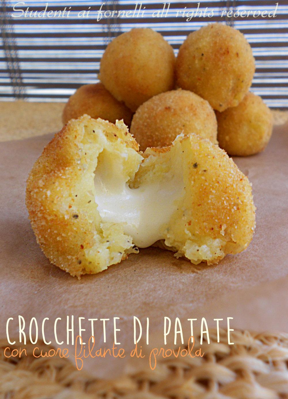crocchette di patate e provola ricetta sfiziosa