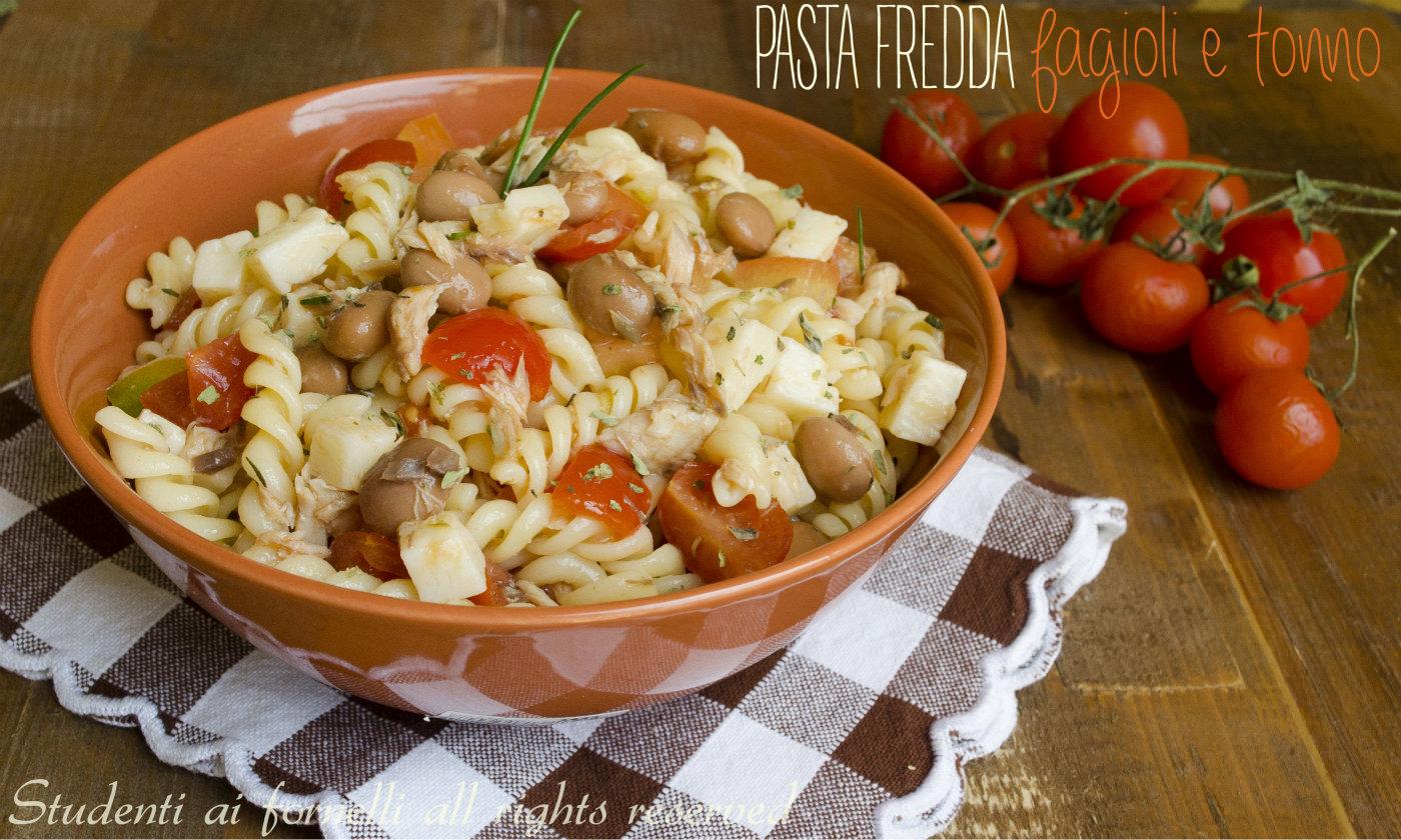Top Pasta fredda con fagioli e tonno, ricetta estiva WA86