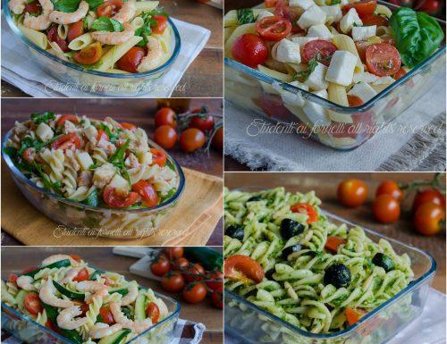 Primi piatti freddi estivi – ricette facili e veloci
