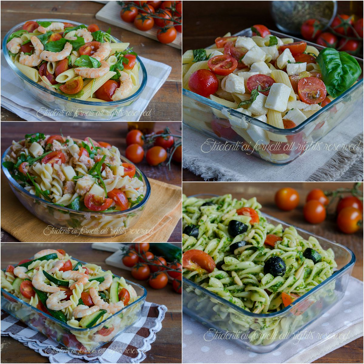 Primi piatti freddi estivi ricette facili e veloci for Ricette primi piatti