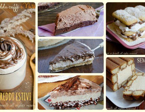 Torte fredde estive senza cottura