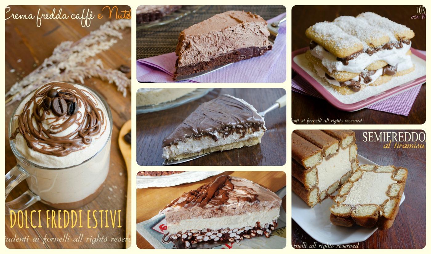 torte fredde estive senza cottura cheesecake ricette dolci estivi semifreddi