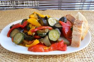 Fantasia di verdure in padella