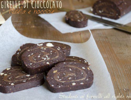 Girelle di cioccolato con Nutella e nocciole