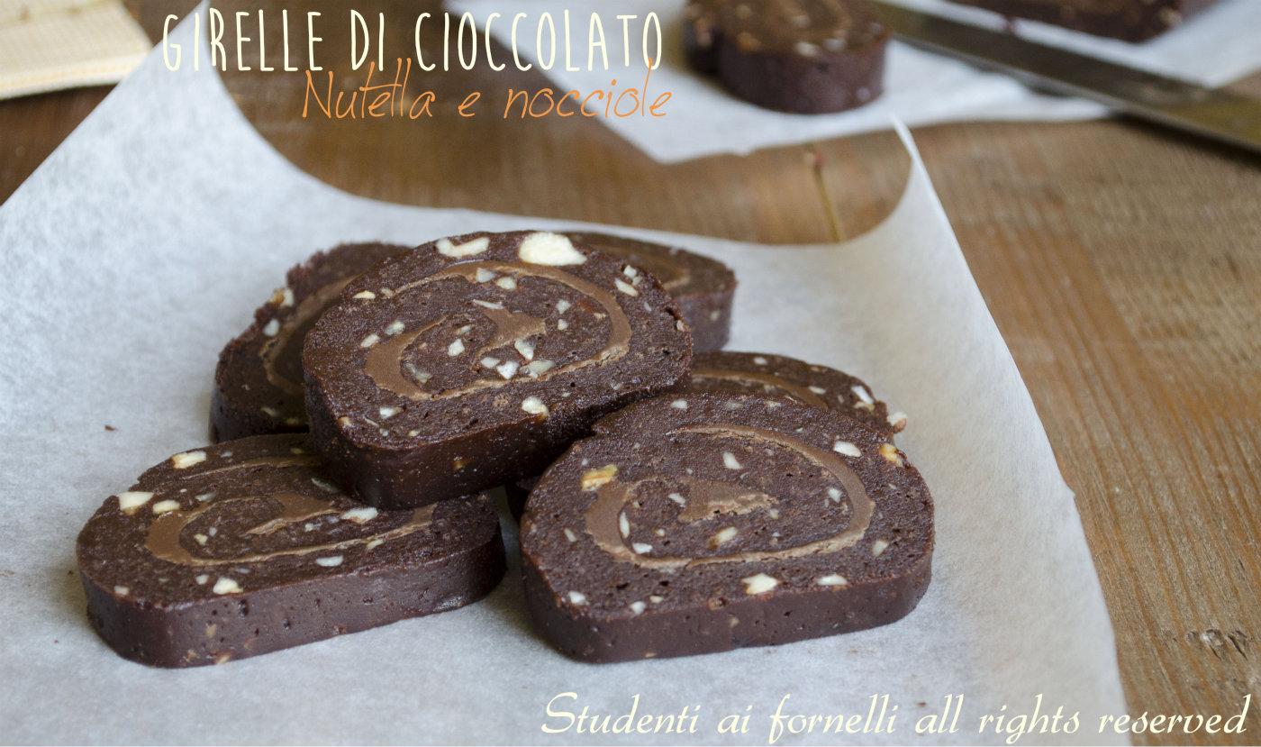 Ricetta biscotti al cioccolato nutella