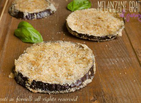 Melanzane gratinate al parmigiano