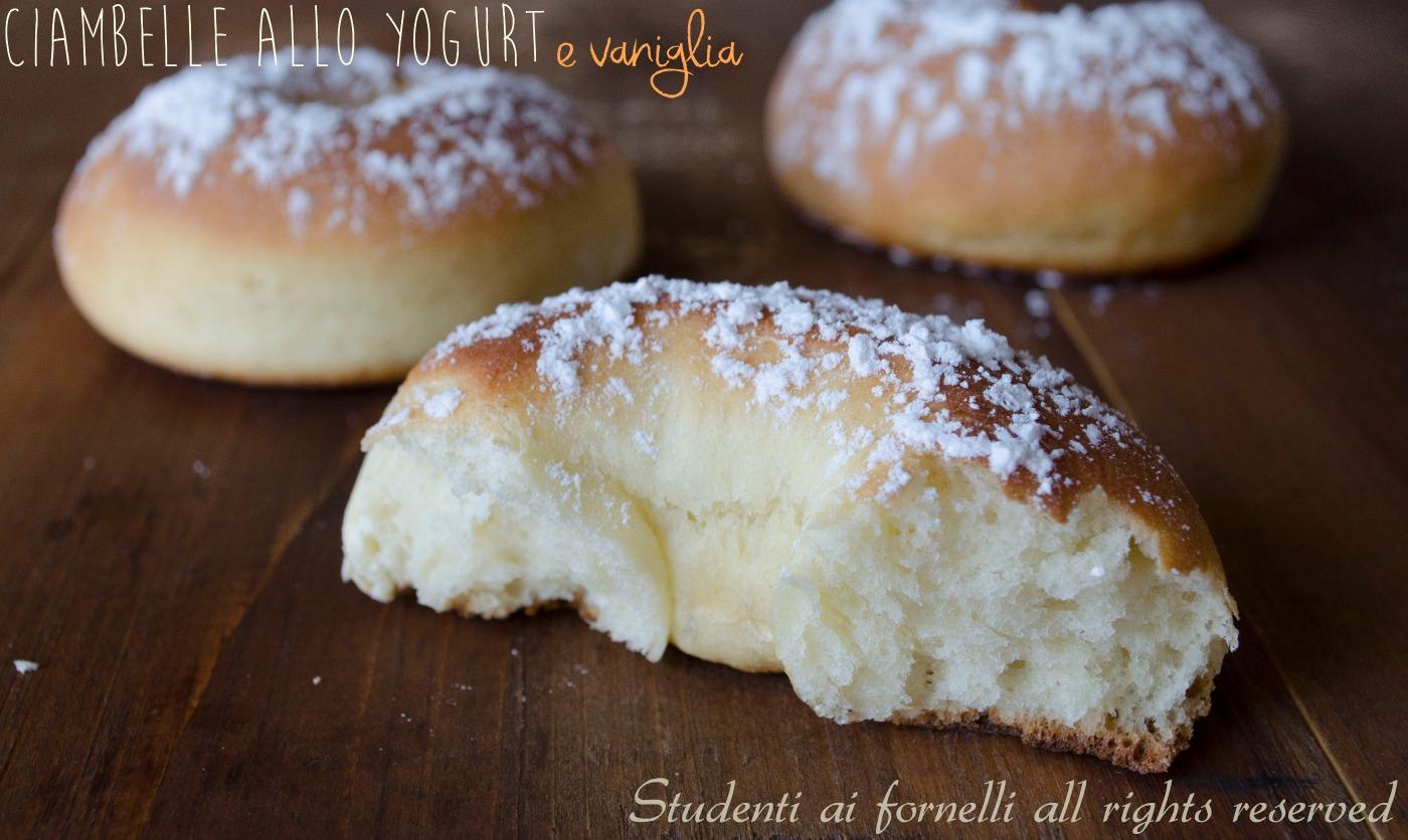 Ciambelle allo yogurt e vaniglia ricetta ciambelle al forno - Forno a microonde piccolissimo ...