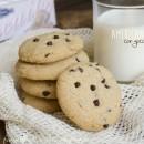 American cookies con gocce di cioccolato