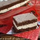 Torta al cacao e cioccolato bianco