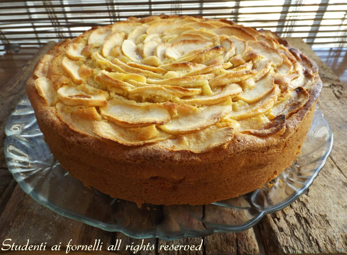 Ricetta torta mele mascarpone