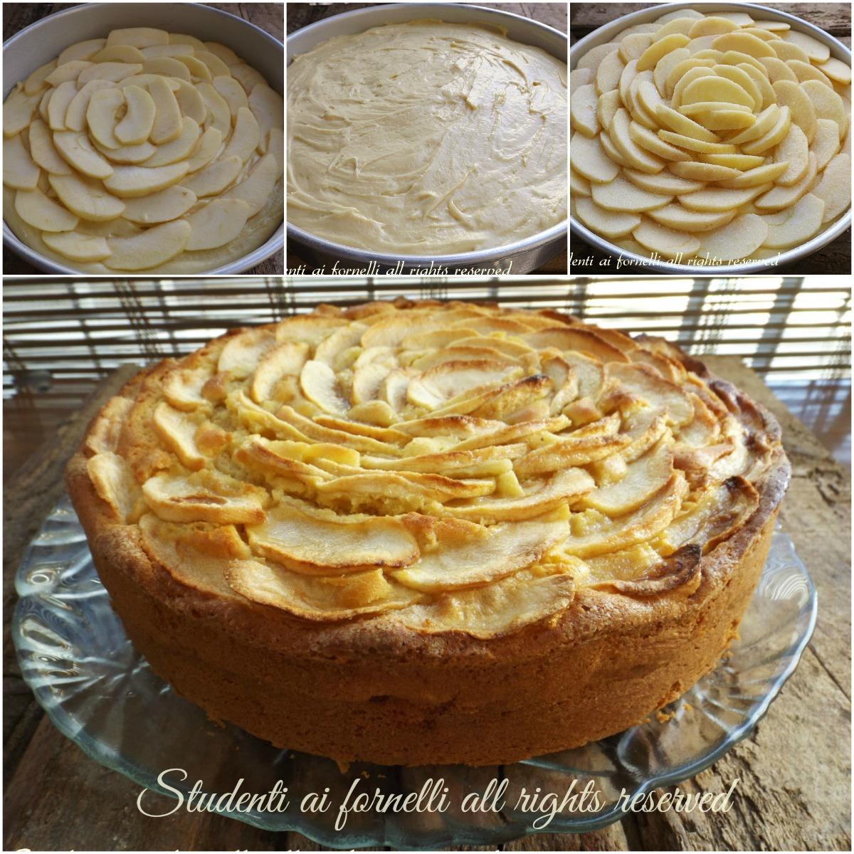 torta di mele e mascarpone ricetta passo passo2