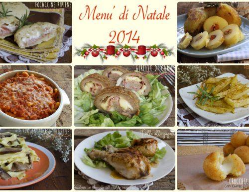 Menu di Natale 2014 a base di carne