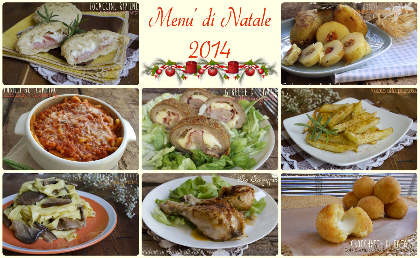 Menu natalizio facile