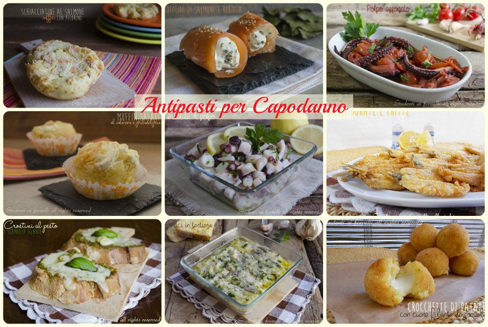 Amato Antipasti sfiziosi cenone di Capodanno 2014 ricette facili FO08