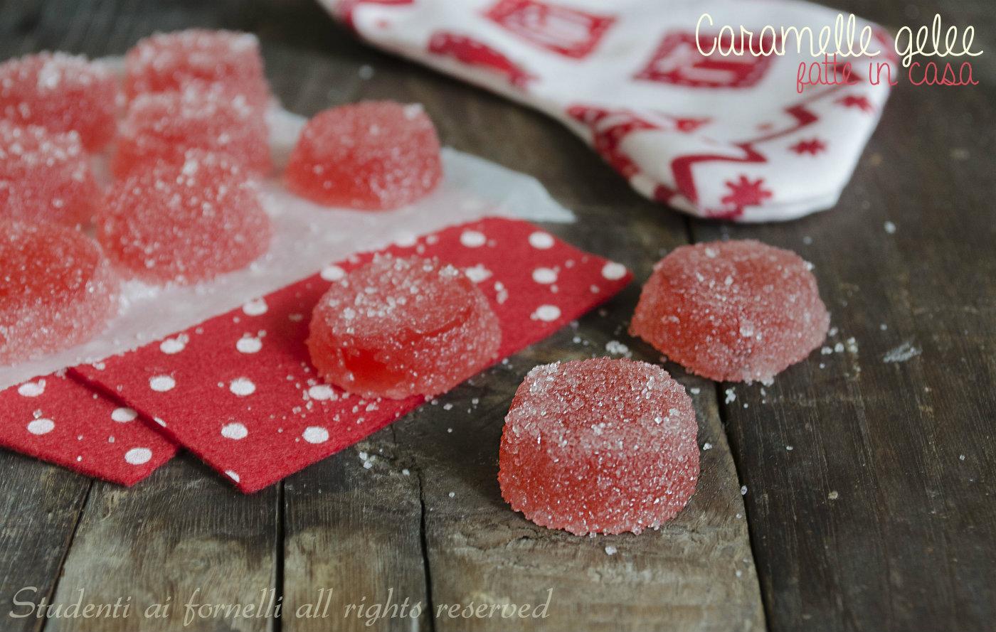 caramelle gelee fatte in casa befana ricetta caramelle gommose con lo zucchero caramelle gelatina facile
