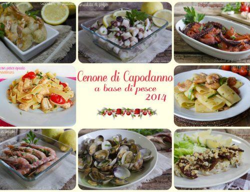 Cenone di Capodanno ricette facili a base di pesce