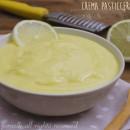 Crema leggera al limone per torte, crostate, bignè, biscotti