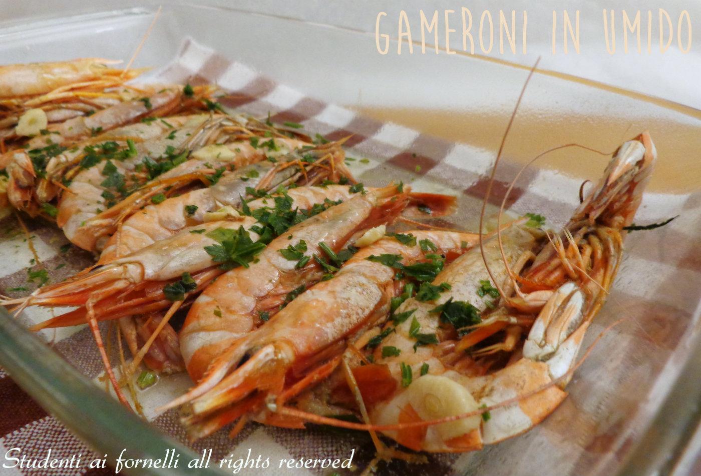 Gamberoni in umido con limone e prezzemolo ricetta veloce for Ricette di pesce facili