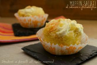 muffin salati salmone e philadelphia ricetta antipasto sfizioso di pesce per vigilia di natale capodanno