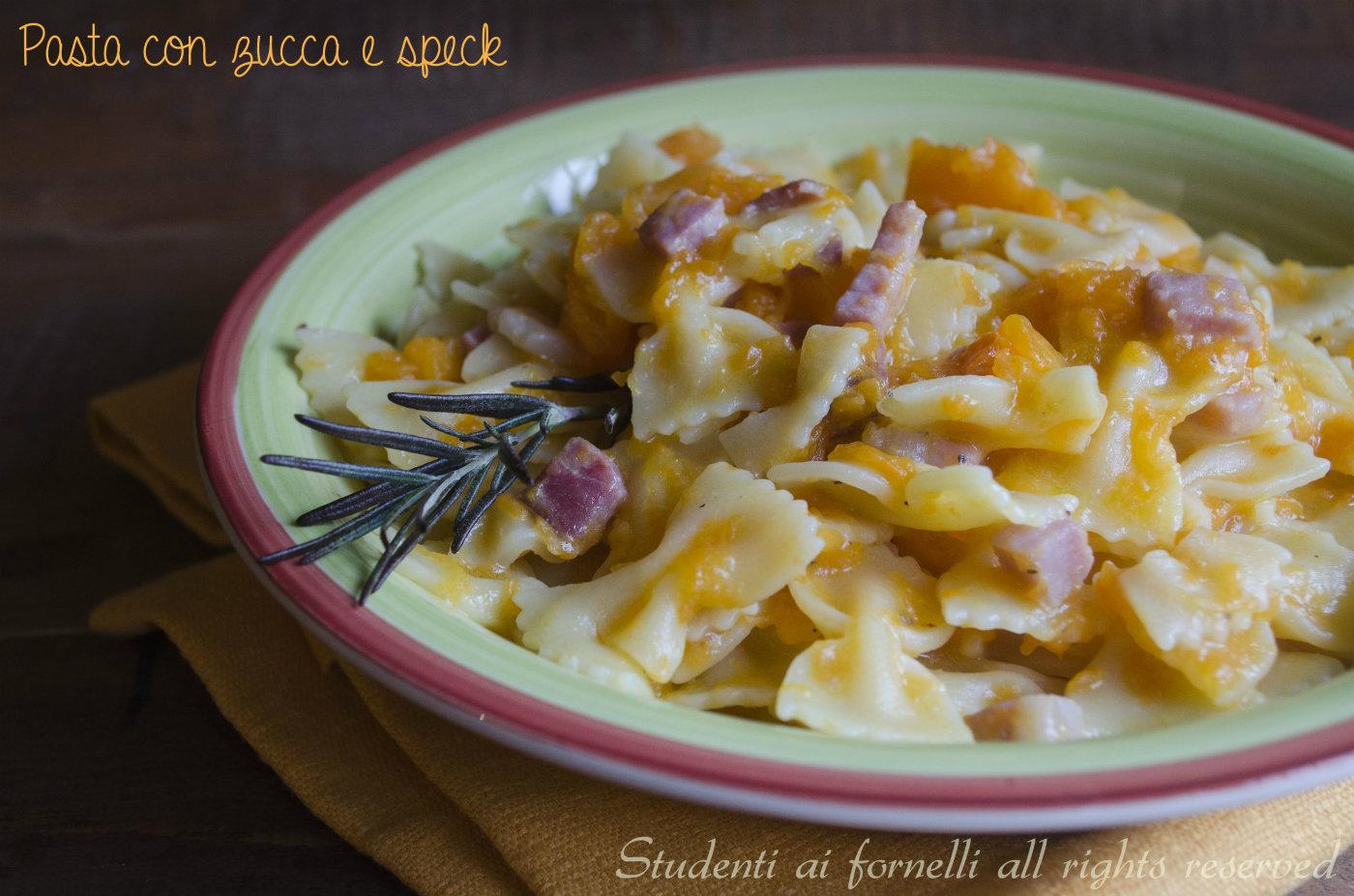 Ricette pasta e zucca