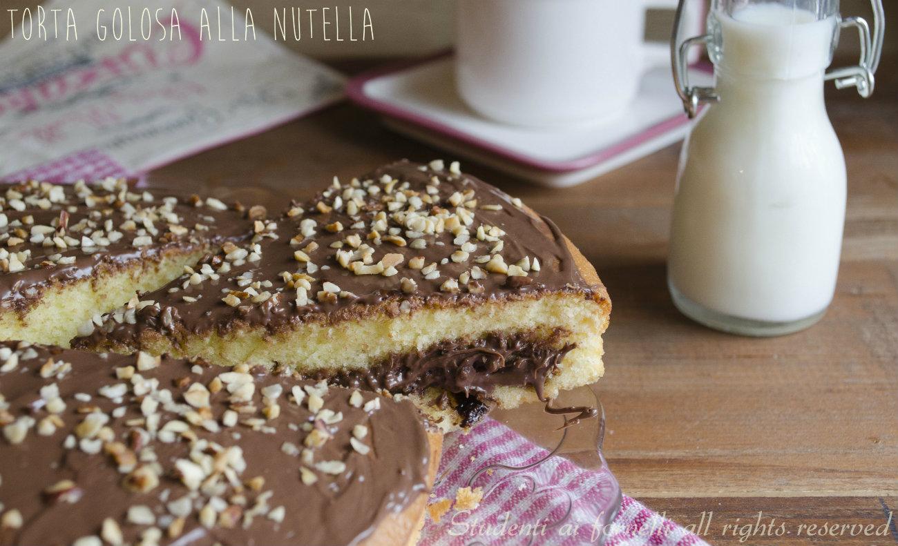 Ricetta torta nutella veloce