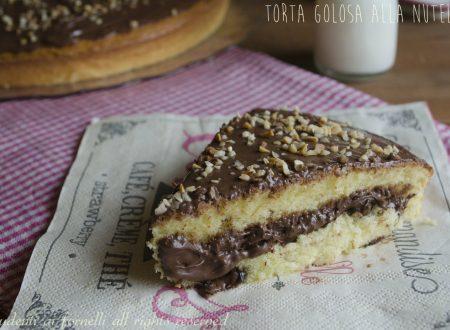 TORTA ALLA NUTELLA con METODO FURBO