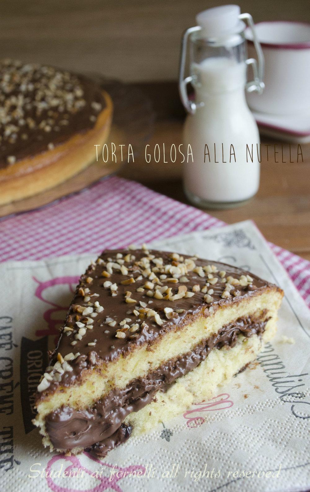 torta alla nutella con cottura in 2 volte ricetta torta brioche alla nutella