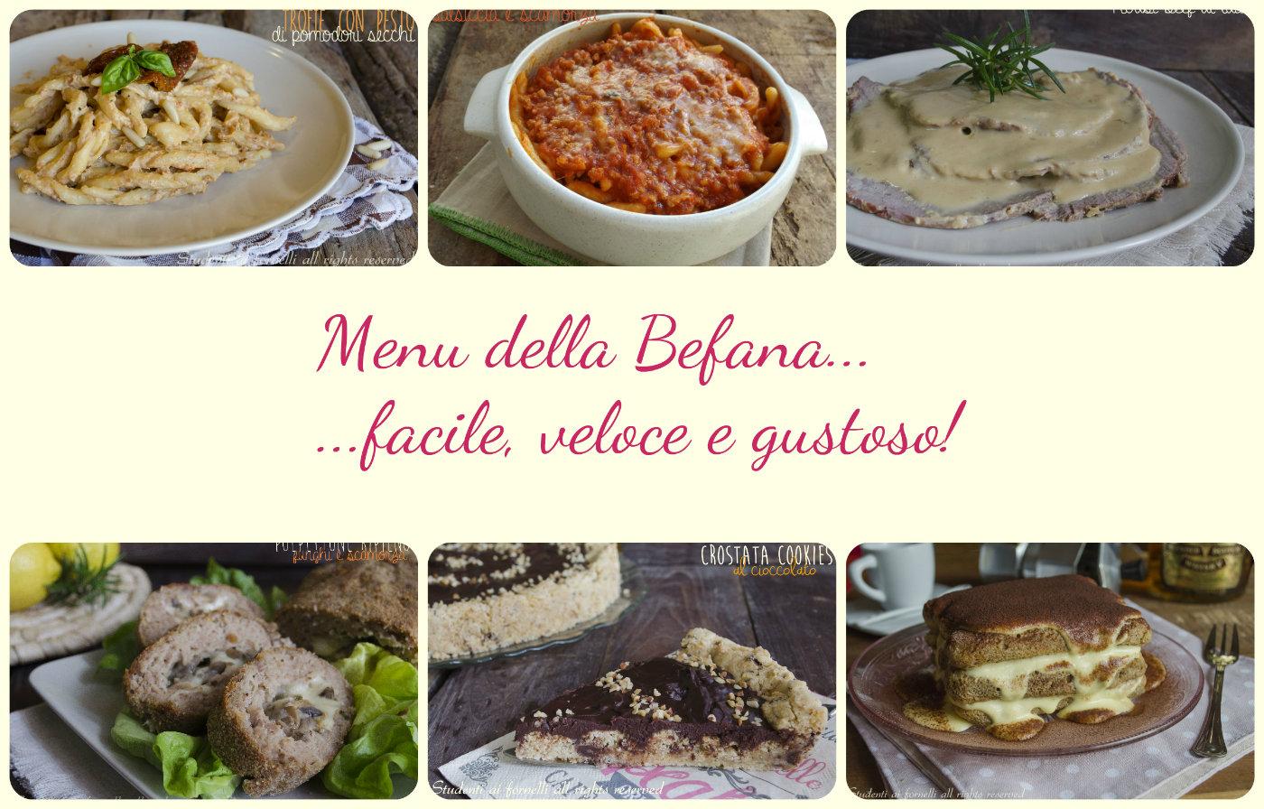 Ricette per la befana, menu e idee gustose e semplici da preparare. Fusilli Beef