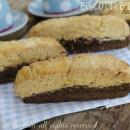 Biscotti bicolore da colazione vaniglia e cioccolato