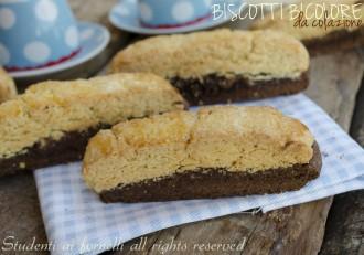 biscotti bicolore da colazione frolla e cacao ricetta biscotti semplici (1)