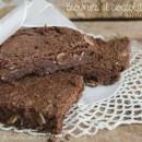 Brownies al cioccolato fondente e mandorle