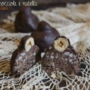 Cioccolatini baci alle nocciole e nutella