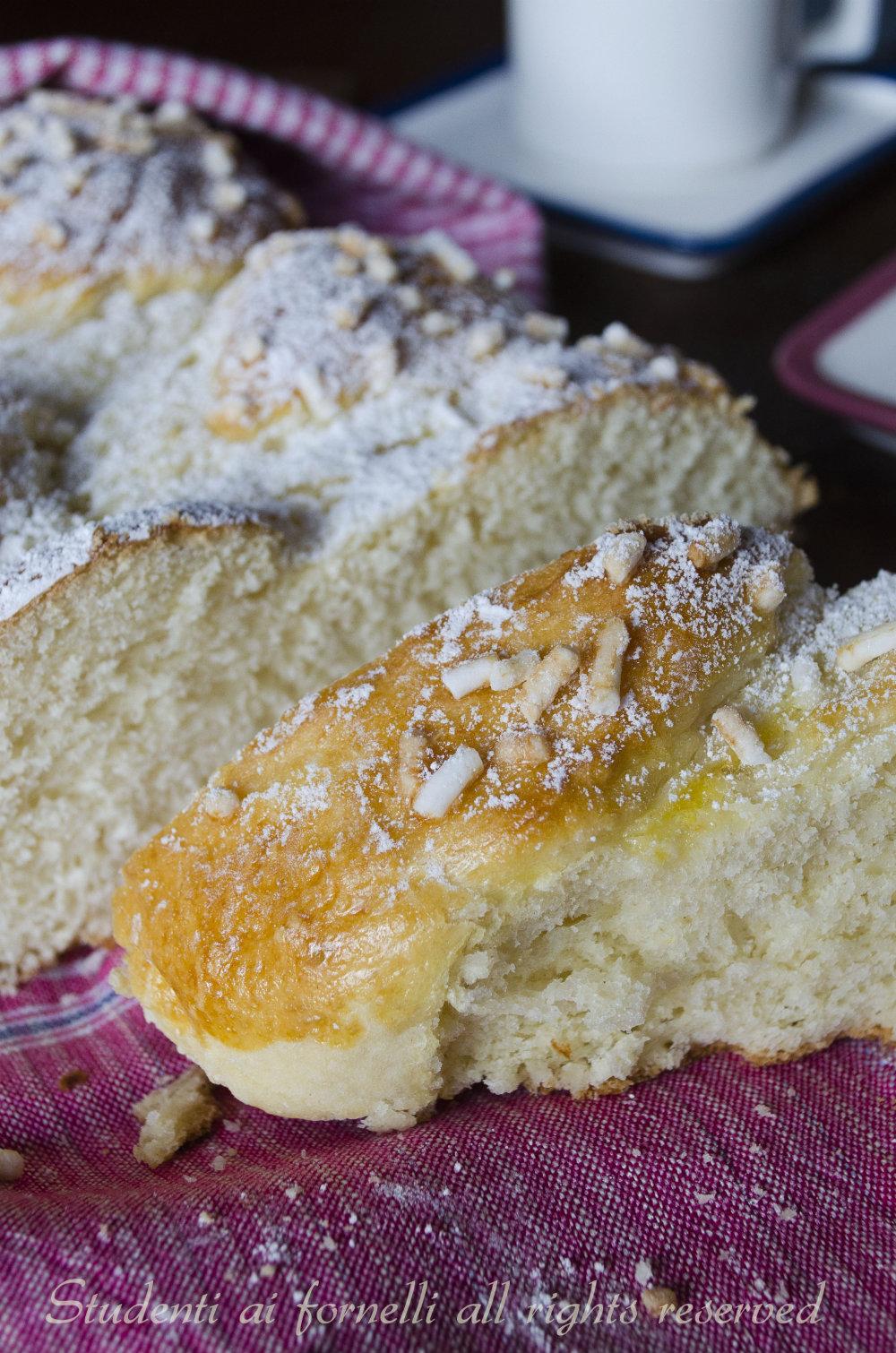 treccia brioche alla panna ricetta brioche soffice soffice da farcire con nutella o marmellata