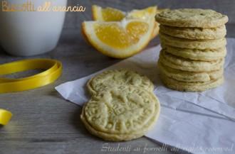 biscotti arancia e tè arancia e mandarino ricetta biscotti al burro all'arancia