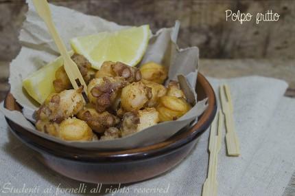 polpo fritto leggero ricetta antipasto di pesce come cucinare il polpo sfizioso