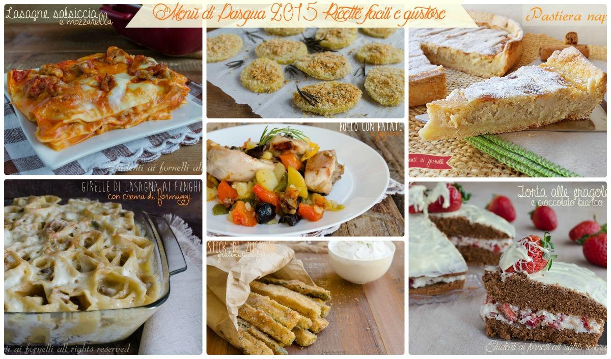 Ricette cucina facili e gustose