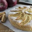 Torta di mele e panna soffice e golosa