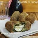 Crocchette di carciofi e patate con scamorza filante